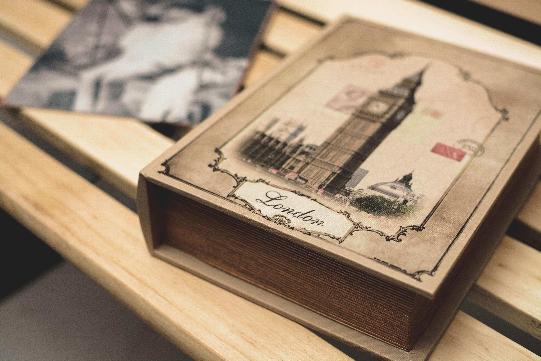Londono vintažinė knyga
